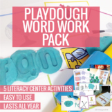 Playdough Word Work Pack (Literacy Center Activities)