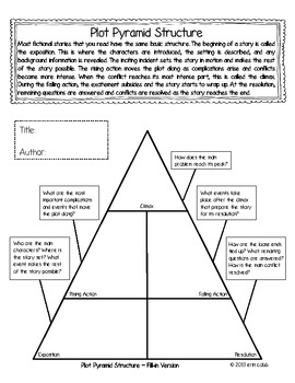 Everything you need to teach plot im lovin lit if you dont already have it click the thumbnail above to download this free quick and easy plot pyramid that includes guiding questions for each part of ccuart Gallery