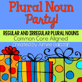 Plural Noun Party! {Common Core Aligned}