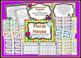 Plural Nouns Reading Center Station Game