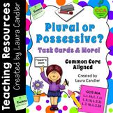 Plural or Possessive? Task Cards & More!