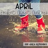 Pocket Chart Activities & Printables April