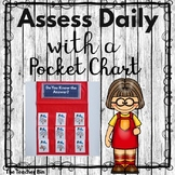 Pocket Chart Assessment Cards