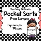 Pocket Sort Freebie