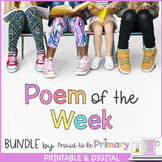 Poem of the Week BUNDLE {4 packs in 1}
