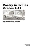 Poetry Activities Grades 7-11