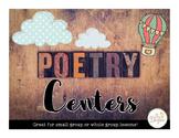 Poetry Centers: Common Core Correlated!