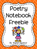 Poetry Notebook Freebie