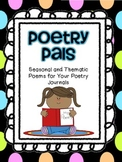 Poetry Pals-Seasonal and Thematic Poems For Your Classroom