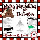 Poetry Possibilities - December