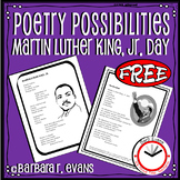 Poetry Possibilities -- Martin Luther King, Jr. Day