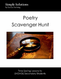 Poetry Scavenger Hunt To Engage and Educate