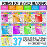 Poetry Station and Shared Reading COMPLETE Monthly Set-CC aligned