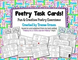 Poetry Task Cards to Practice Common Core Writing & Langua