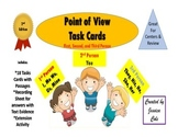 Point of View Task Cards Activity (1st, 2nd, and 3rd with