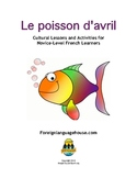 Poisson d'Avril:  French April Fool's Day Worksheets and A