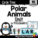 Polar Animals Preschool Centers and Circle Time