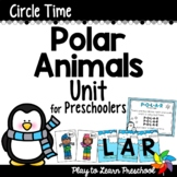 Polar Animals Preschool Centers and Circle Time