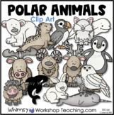 Polar Animals Clip Art - Whimsy Workshop Teaching