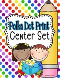 Polka Dot Center Set