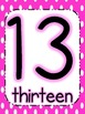 Polka Dot Number Posters {0-20}
