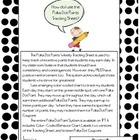 Polka Dot Points: Weekly Tracking Sheet