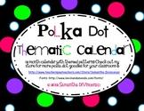 Polka Dot Thematic Calendar