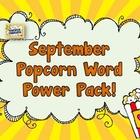 Popcorn Word Power Pack FREE September Sneak Peek!!!