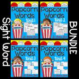 Popcorn Words Complete Set Bundle