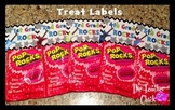 Poprocks Treat Labels