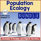 Population Ecology Complete Unit Teaching Bundle