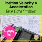 Position Velocity & Acceleration Stations Activity