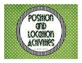 Position and Location Activities