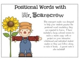 Positional Words Emergent Reader {Fall Theme}