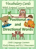 Positional and Directional Vocabulary Building for ELL Newcomers