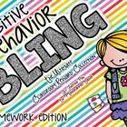 Positive Behavior Bling--Homework Club Reward Tags