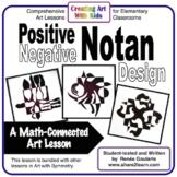 Positive-Negative Notan Design - a Math-Connected Art Less
