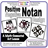 Art Lesson - Positive-Negative Notan Design - Math Integrated