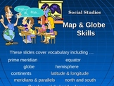 Power Point Lesson Intermediate Map and Globe Skills