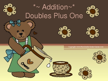 Doubles Plus One in Addition PowerPoint