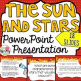 The Sun and Stars PowerPoint - Editable