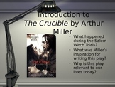 Powerpoint: Introduction to The Crucible