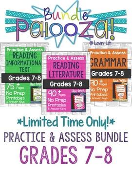 https://www.teacherspayteachers.com/Product/Practice-Assess-Bundle-for-Grades-7-8-ELA-Bundle-Palooza-Lovin-Lit-1840945