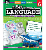 Practice, Assess, Diagnose: 180 Days of Language for Sixth