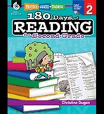 Practice, Assess, and Diagnose: 180 Days of Reading: Grade 2