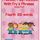 Practice, Play, Connect with Fry's Phrases: Sample of Four
