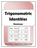 Practicing Trigonometric Identities - Dominoes