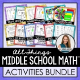 Pre-Algebra Activities Super Pack!