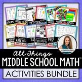 Pre-Algebra Activities: Super Pack