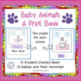 Pre-K Baby Animals Book